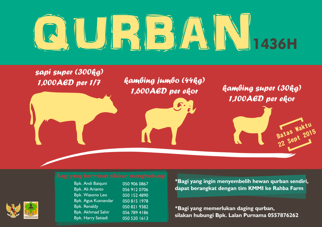poster qurban 1436h